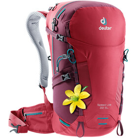 Deuter W's Speed Lite 22 SL Backpack cardinal-maron